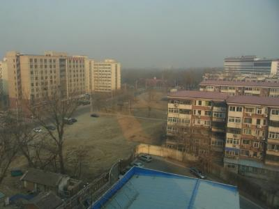 フライト変更で北京に一泊