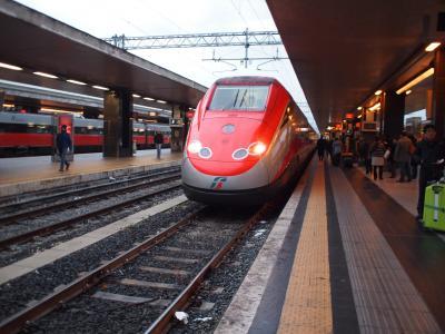 ローマからフィレンツェへ鉄道旅