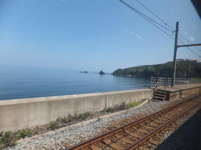 2014 新潟遠征と夏休み第1弾の旅【その9】新潟から海沿いに直江津へ