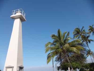 ハワイならではの青