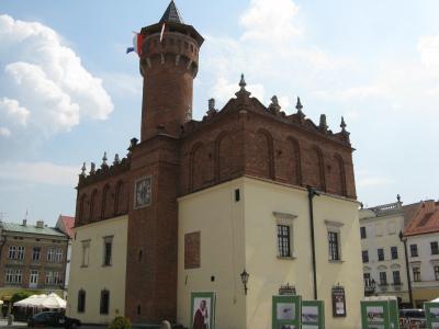 ポーランド(17)―ルネッサンスの雰囲気が残る町、タルヌフ