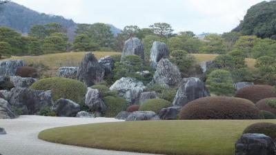 「足立美術館・出雲大社・鳥取砂丘」2日間のツアーに行ってきました④~松江城観光と足立美術館観賞