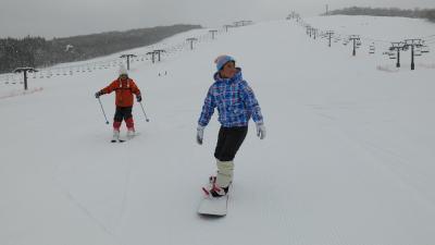 待ちに待ったスキーはひるがの高原スキー場