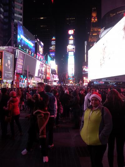 有休使って18日間で世界一周 まずは1カ国・2都市目 NY