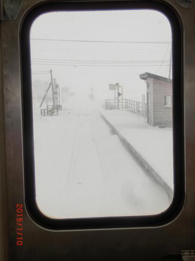 真冬の青森(その① 津軽鉄道ストーブ列車など)