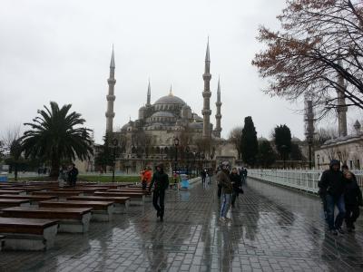 有休使って18日間で世界一周 つぎは3カ国・4都市目 トルコ。イスタンブール