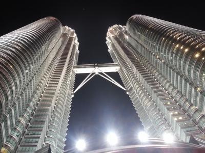 有休使って18日間で世界一周 ゴール目前 6カ国・7都市目 マレーシア。KL