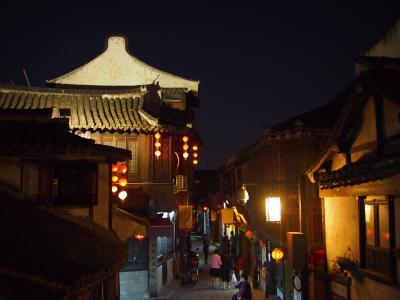 上海郊外の古き良き水郷めぐり 「新場古鎮」