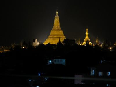 フラッシュパッカー 一人旅 ヤンゴン・バガン 1日目・2日目前半(移動日・ヤンゴン)
