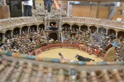 1410スペイン~ミハス5ユーロの闘牛場と無料の博物館