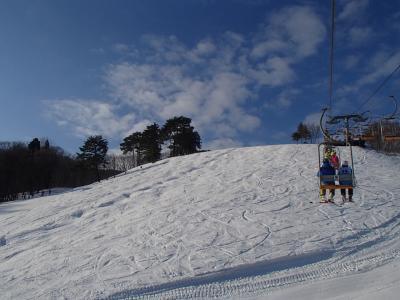 2015年01月 奥神鍋スキー場に行ってきました。