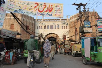 再びPAKISTAN11 旧市街 ロハリ・ゲート散策 Lahore