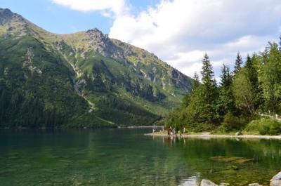 ポーランドの山へ(1) 海の瞳「モルスキエ・オコ」