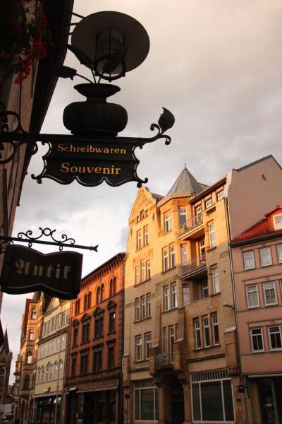 2014年ドイツ旅行~12年ぶりの再訪~【第8日目:アイゼナハ観光】(1)散策しがいのあるアイゼナハ市内