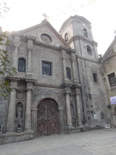 フィリピン 「行った所・見た所」 マニラ(リサール公園からサン・オウガスチン教会)