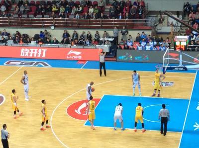 北京スポーツ観戦 ⑤ ー男子バスケ 中国CBA 加油!!北京DUCKSー