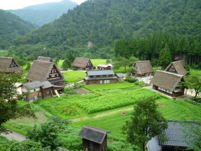 日本の原風景を体験実感する菅沼集落(五箇山)
