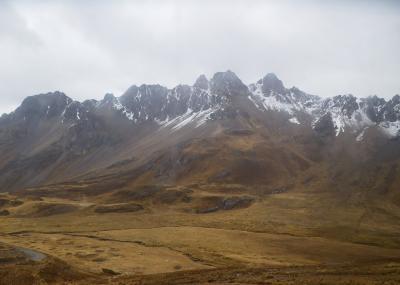 ペルー2013旅行記 【19】ワラスおよびその周辺1(パストルリ氷河ツアー1)