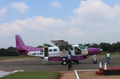 スリランカってこんなとこ~♪NO.2 エディハド航空で快適にコロンボ&シギリヤまでシナモンエアーでひとっ飛び~♪
