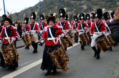 San Sebastian の太鼓祭り