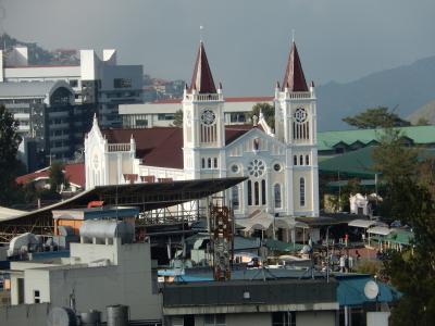 フィリピン 「行った所・見た所」 バギオ(バギオ大聖堂・マインズビューパークとプリンスプラザホテル)
