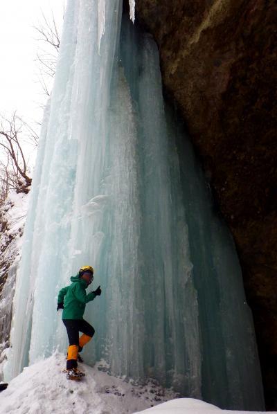 初めての冬山!? 2015年登り初めは雲竜渓谷の氷瀑