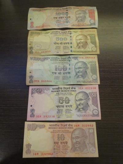 海外旅行先の通貨⑧(インド)