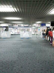 クラビ国際空港に着きました。