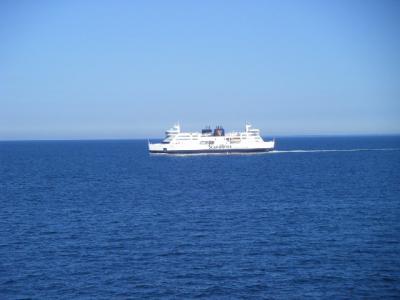 2013/07 ドイツ&デンマークの旅(6) 列車で海を超えて
