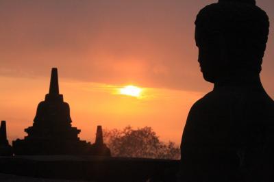 インドネシア2015(3)ボロブドゥール遺跡サンライズツアーと周辺遺跡