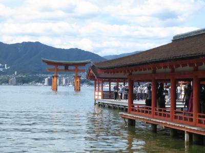 広島・宮島・出雲と水木しげるロード その2~宮島と出雲のますや旅館