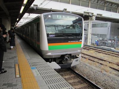余った乗車券を使って蒲田にお出かけ。