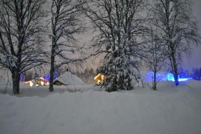 オーロラ、見えるかな…。(フィンランド 2日目その2 オーロラ、見えるかな…。Part1 その前にアイスホテル見学)
