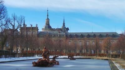 ラ グランハ宮殿 Palacio Real de La Granja de San Ildefonso