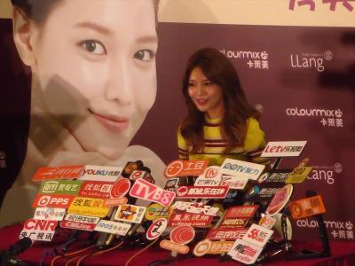 香港★韓流アイドル?と旧正月の飾り@東港城