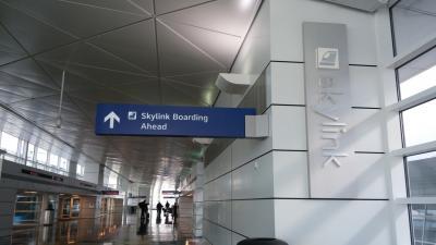 広い空港!!