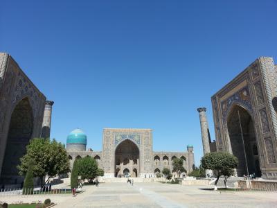 エレガンス的 中央アジア・ウズベキスタンの旅 サマルカンド編