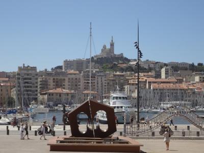 マルセイユ旧港ブラブラ一人歩き