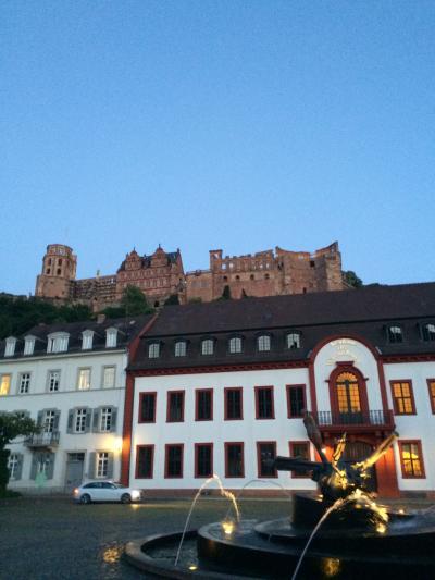 ドイツ:Germany2014-Heidelberg(ハイデルベルク)ー~ドイツでの結婚式からハネムーンイギリスへ①ハイデルベルク~