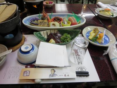 四国霊場八十八箇所お遍路の旅第5回宿泊バスツアー☆1日目☆龍馬の宿で、皿鉢料理をいただきましたヽ(^o^)丿
