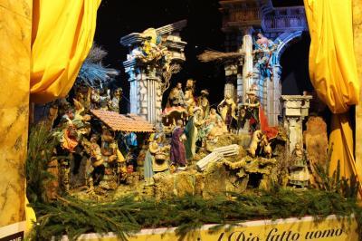 初・西ヨーロッパの旅(5) ローマのクリスマス