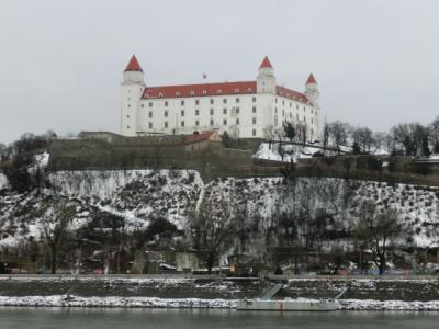 ドナウと城が似合う街