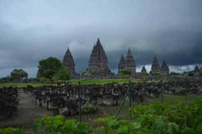 SFC修行とジョグジャカルタ3日間の旅(3) - プランバナン寺院群へ