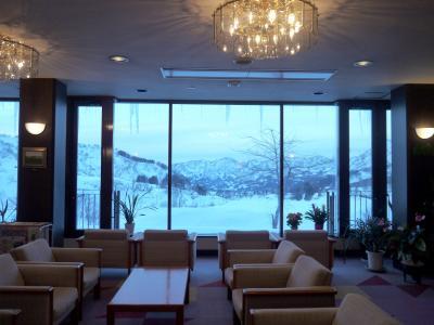 年末旅は新潟の「笹倉温泉 龍雲荘」で雪見風呂