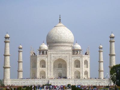 お気楽インド旅行4 ~サリーを着てタージ・マハルへ~