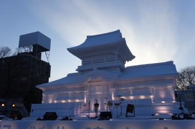 さっぽろ雪まつり~お泊りはホテルオークラ札幌 2015