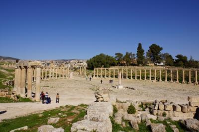 ヨルダン・ペトラ旅行記 - 2日目 ジェラシュ遺跡は広かった その2