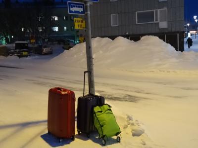 オーロラ、見えるかな…。(フィンランド 5日目その1    無念…。)