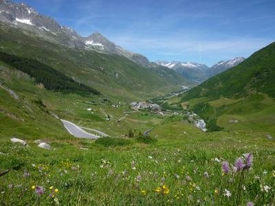 2014年レンタカーと列車で巡るスイスの旅⑭ シルバプラナからフィーシュへ(カリジェの故郷トゥルン&峠越え)