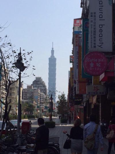 旧正月ど真ん中の台北